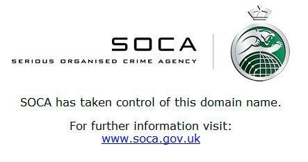 Las autoridades británicas confiscan un dominio americano y amenazan a sus usuarios con penas de cárcel