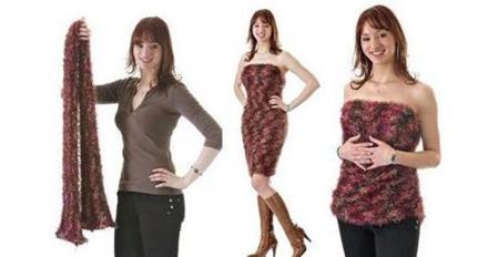 Magic Scarf, una bufanda para vestir... todo el cuerpo