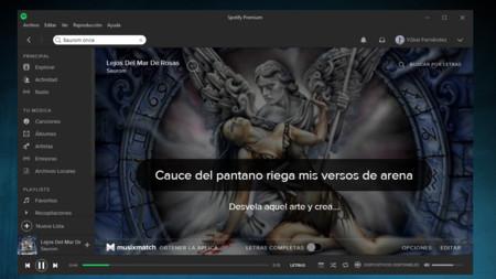 Utiliza Spotify como Karaoke