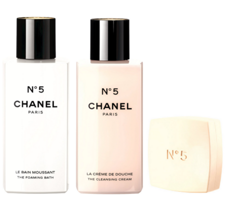 Línea de baño Chanel Nº5
