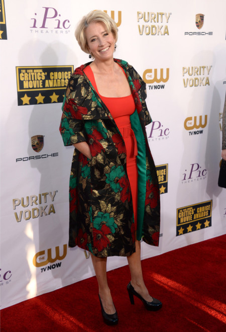 Emma Thompson Critics Choice Awards 2014