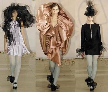 Roksanda Ilincic en la Semana de la Moda de Londres Otoño/Invierno 2007/08
