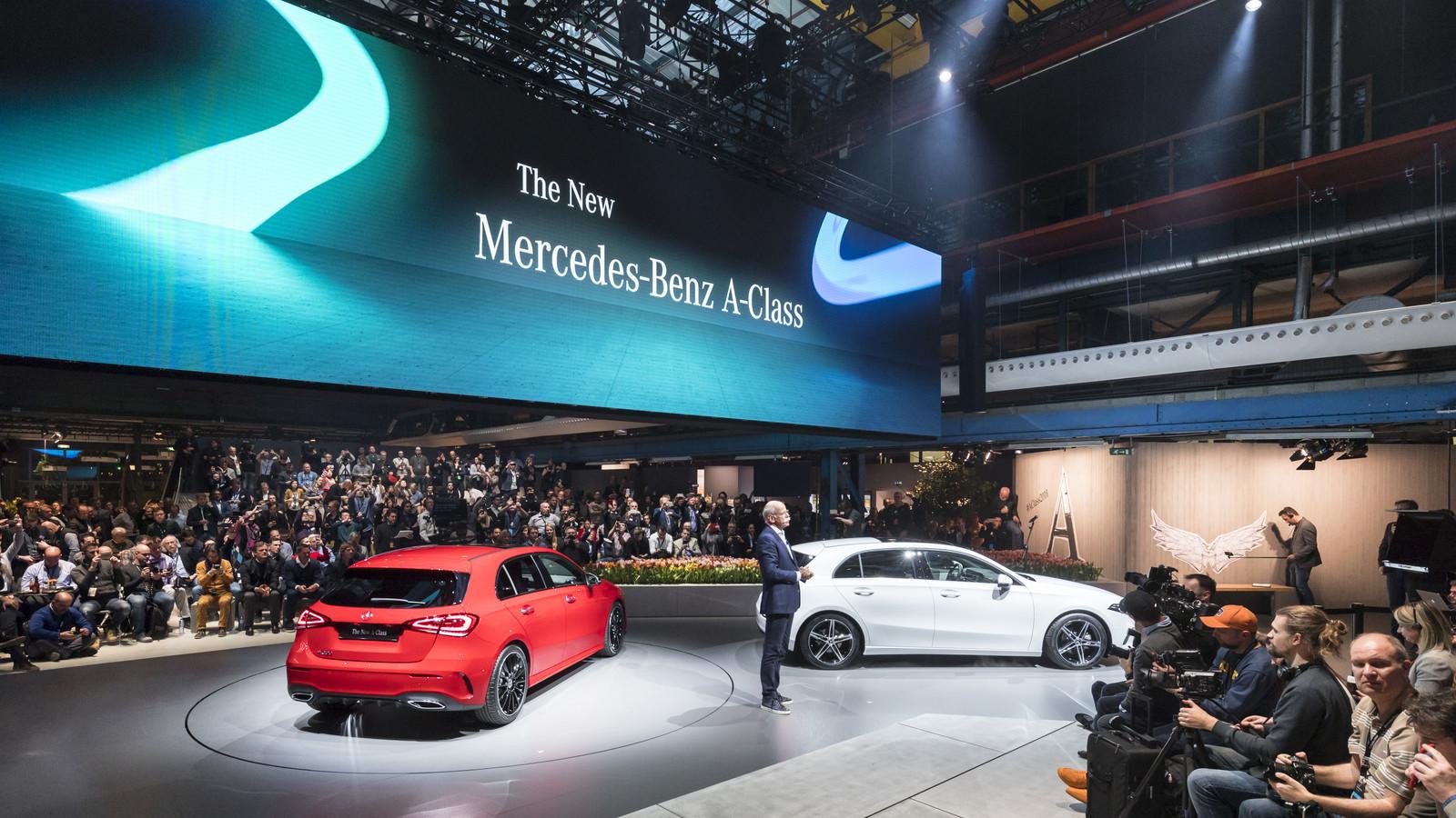 Foto de Mercedes-Benz Clase A 2018 - presentación (31/114)