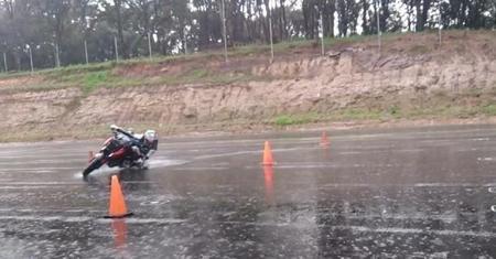 La lluvia también es divertida