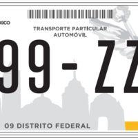 Las placas nuevas no serán obligatorias para todos, aclara el Jefe de Gobierno del Distrito Federal