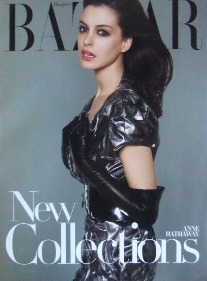 Foto de Anne Hathaway en Harper's Bazaar julio 2007 (2/3)
