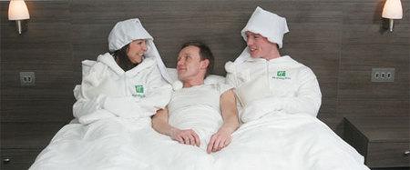 Calienta-camas humano en hoteles del Reino Unido