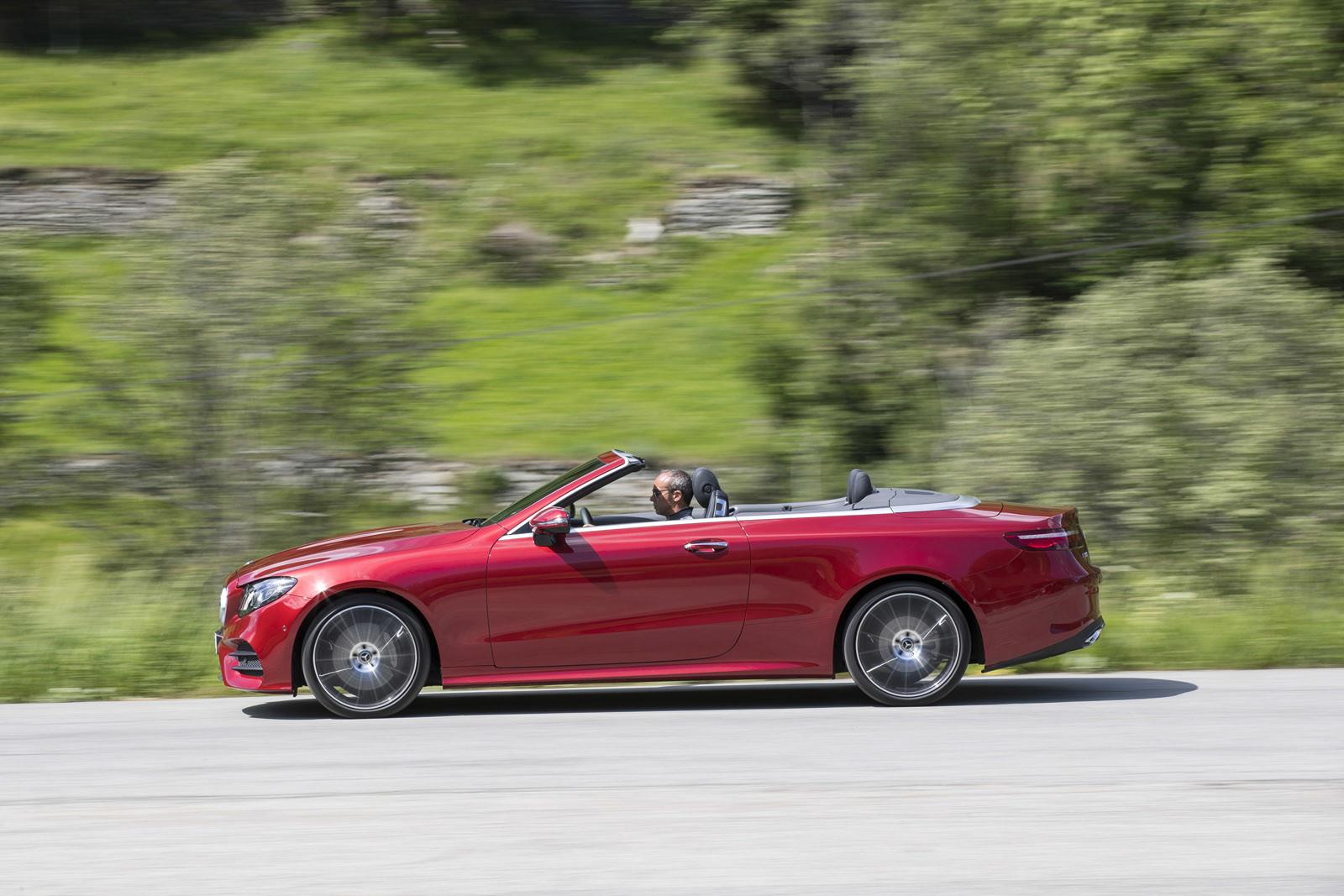 Foto de Mercedes-Benz Clase E Cabrio, toma de contacto (155/156)