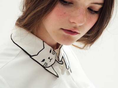 Amantes de los gatos: este es el cuello de camisa que no puede faltar en vuestro armario