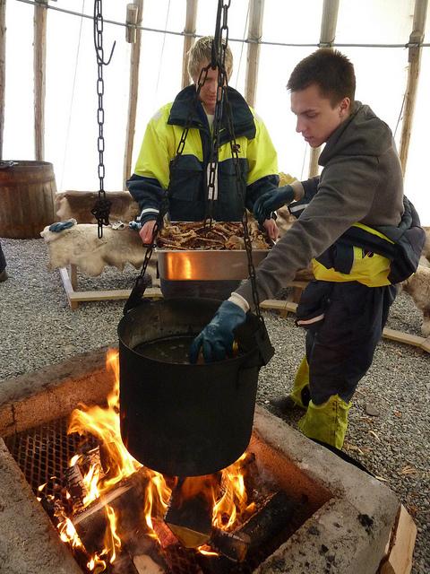 Foto de Cangrejo Real en Noruega (2/5)