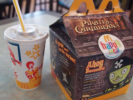 Comparación del Menú Diver King frente al Happy Meal