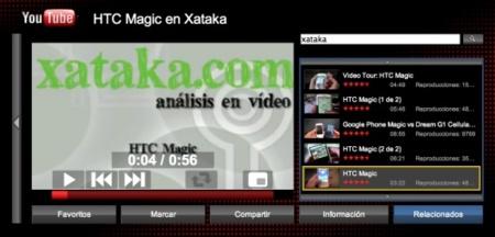 Youtube XL, vídeos de Internet en el televisor
