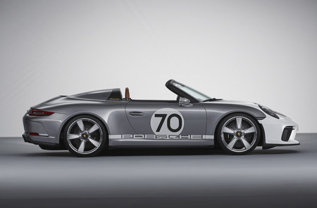 Porsche 911 Speedster Concept lateral