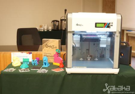 XYZprinting traerá sus impresoras 3D a España a mediados de año