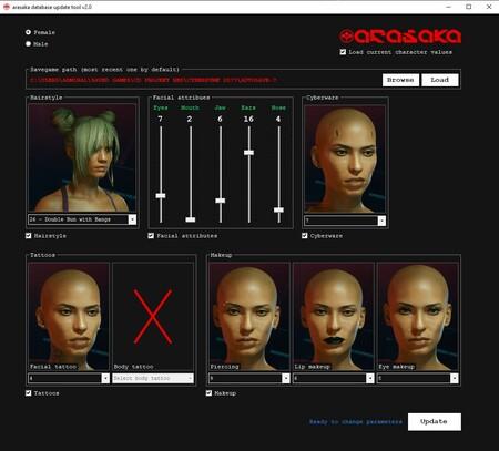 ¿Cansado de no llamar la atención en Night City? Este mod de Cyberpunk 2077 te permite modificar el rostro de V en cualquier momento