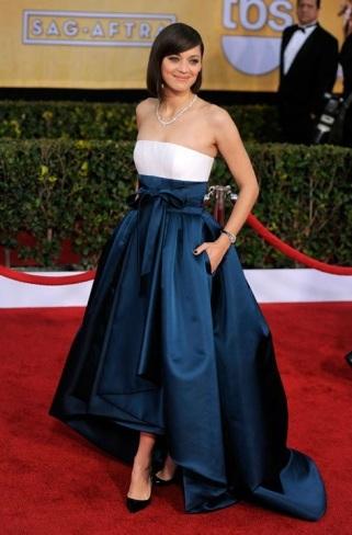 Alfombra roja : Marion Cotillard triunfadora de los SAG Awards