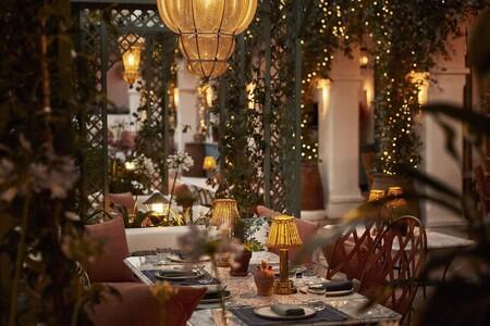 Artesanía andaluza, inspiración botánica, rincones de ensueño... así es el restaurante marbellí El Patio