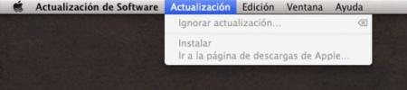Actualización de software OS X