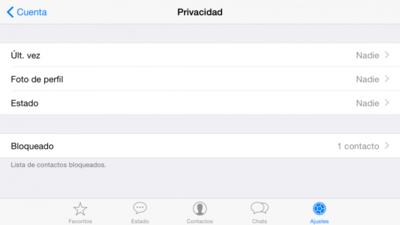 Así debes configurar Whatsapp para que sea lo más privado posible