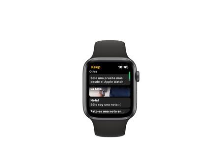 Google Keep llega a watchOS: añade notas y recordatorios desde el Apple Watch