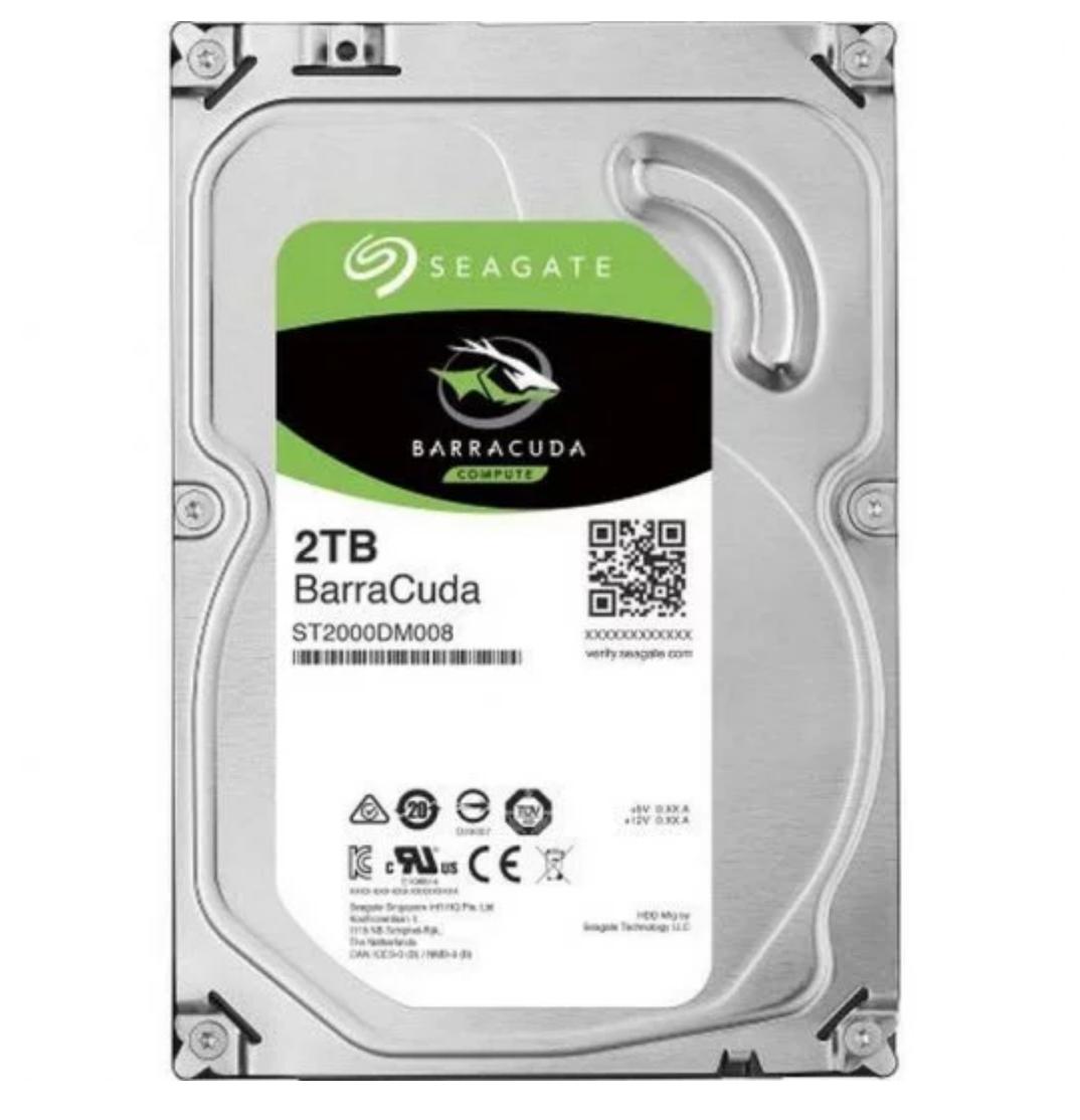 """Seagate BarraCuda 3.5"""" 2TB SATA 3"""