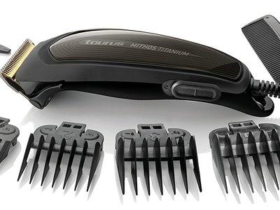Por 12 euros tenemos el cortapelos Taurus Mithos Titanium con cuchilla de titanio en Amazon