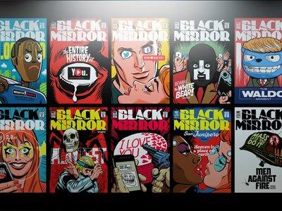 Los episodios de 'Black Mirror' se convierten en portadas de cómic, la imagen de la semana