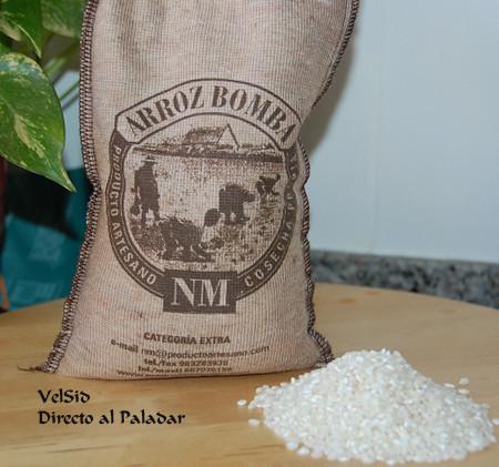 Arroz bomba de NM Arrossos de Qualitat, un producto gourmet