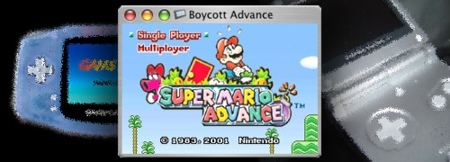 Boycott Advance emulador Gameboy Advance