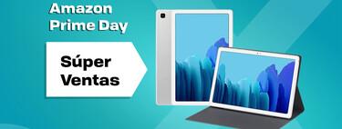 Llévate la tablet Samsung Galaxy Tab A7 rebajadísima en el Prime Day y con funda de regalo por 169 euros