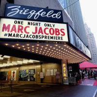 Desfile Marc Jacobs Première, one night only, en el Ziegfeld Theater para la primavera 2016