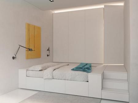 Un muro polifacético para organizar un apartamento - 6