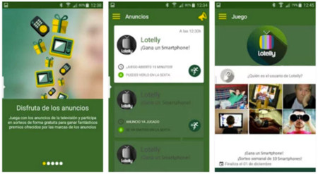Lotelly para iOS y Android