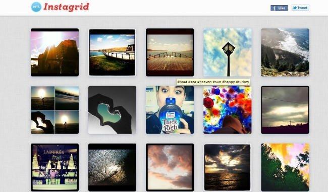 Instagrid y otras aplicaciones para Instagram
