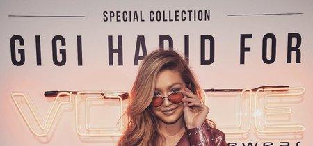 De nuevo con el rosa, Gigi Hadid borda un look que todas querríamos copiar