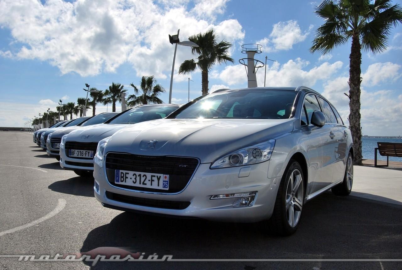 Foto de Peugeot 508 y 508 SW (presentación) (33/118)