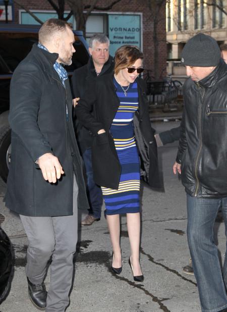 Kristen Stewart Look Rayas