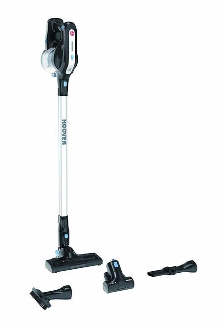 Por 134,99 euros tenemos el aspirador de tipo escoba Hoover HD18DPT en Amazon
