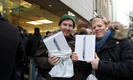El iPad 2 se agota en los Estados Unidos con grandes cifras de venta