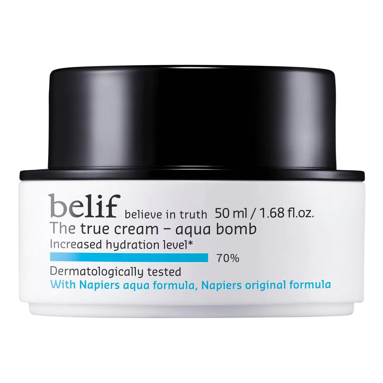 The True Cream Aqua Bomb de Belif