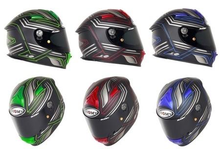 Suomy lanza la versión Racing Matt de su casco deportivo Sr-Sport