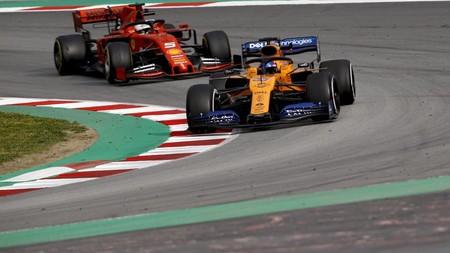 Carlos Sainz Vettel Montmelo 2019