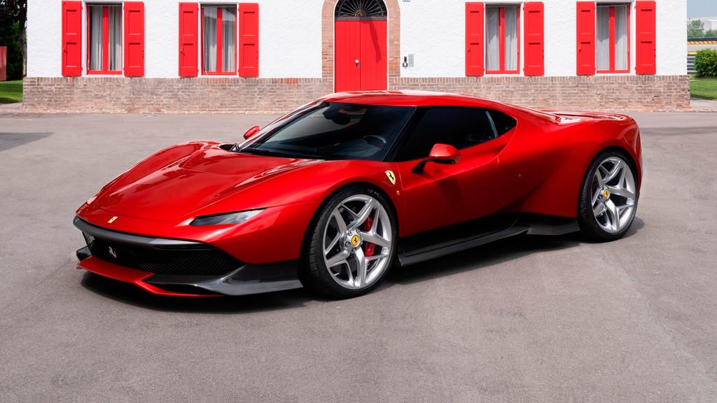 Ferrari SP38 one-off