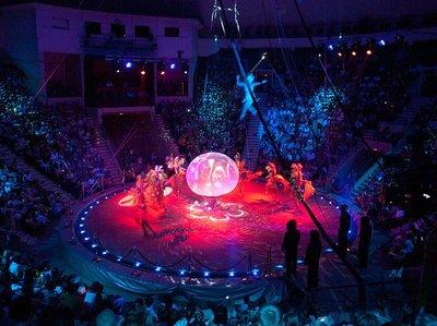 Una tarde de circo en Rusia