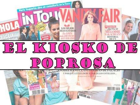 El Kiosko de Poprosa: portadas y más portadas de revistas (del 20 al 26 de enero)