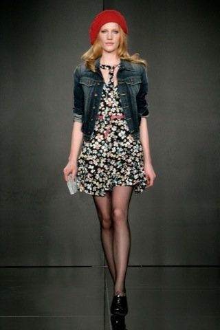 Pepe Jeans, Otoño-Invierno 2010/2011 floral