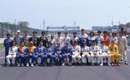 Foto de familia Fórmula Nippon 1997