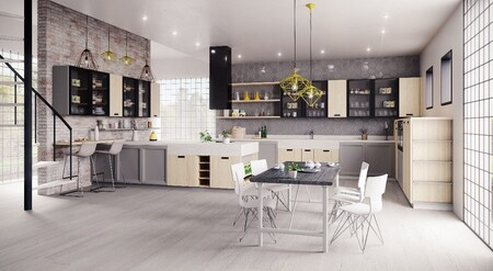 Apuesta por el negro: las cocinas que reinarán este otoño