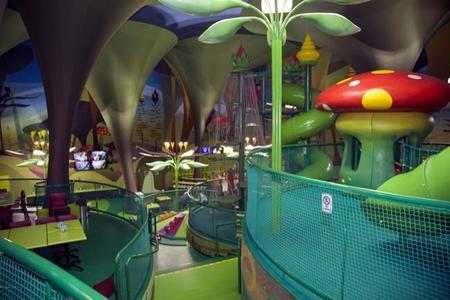 The magic forest es un parque mágico interior en Kinépolis