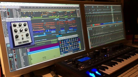 Logic Pro 7 en un PowerMac G5